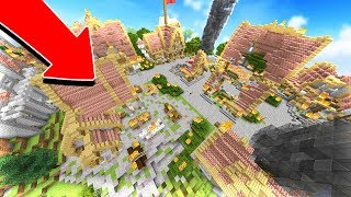 RESCUING THE SERVER OWNER! (MINECRAFT CITY DEFENSE)