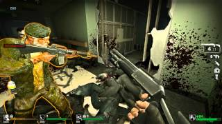 Left 4 Dead- Full Walkthrough Episode 1: Chapter 1 [No Mercy]