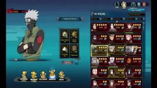 Naruto Online Gameplay 163 - Naruto vs Pain & Lv 85