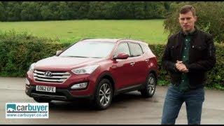 Hyundai Santa Fe SUV review - CarBuyer