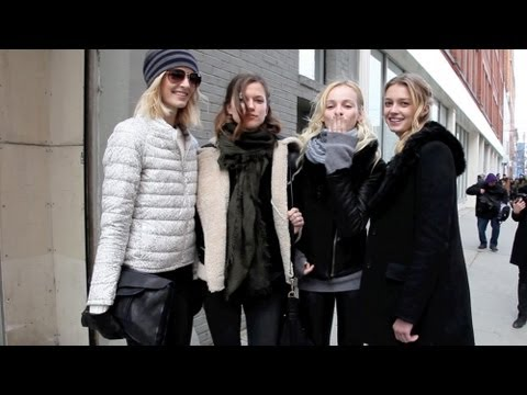 Happy Valentine's Day from the Catwalkers of NYFW Fall/Winter 2013!!!
