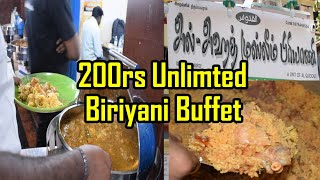 Unlimited  Non Veg Buffet @ 200 rs - MSF