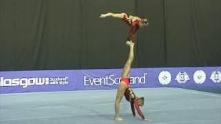 Sports Acro World Championships 2008 WP RUS 2