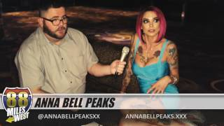 Interview with Anna Bell Peaks @ AVN Expo