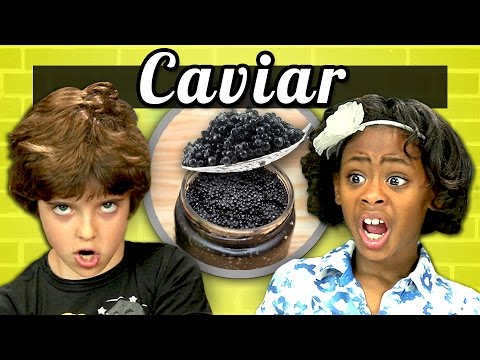 KIDS vs. FOOD 3 CAVIAR