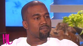 Kanye West Gives The Weirdest Interview On Ellen EVER