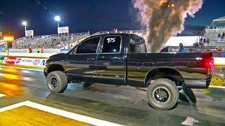 1500+hp Diesel Truck - 9 Second 1/4 Mile!