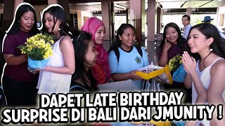 Late Birthday Surprise In BALI..   Mila's Dairy