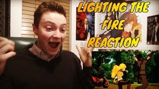 RWBY: VOLUME 5 CHAPTER 4 - LIGHTING THE FIRE REACTION