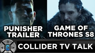 The Punisher Teaser Trailer, Game of Thrones Season 8 Filming Date Revealed - Collider TV Talk