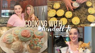 Cooking with Kendall k!!!
