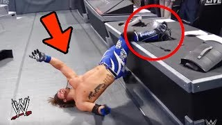 10 FUNNIEST Mistakes WWE Wrestlers Made In 2017