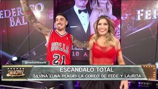 Acusan a Silvina Luna de plagiar una coreo de Fede y Laurita: mirá el video