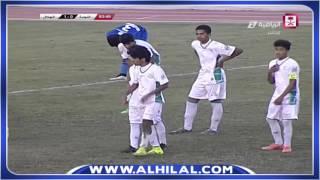 ملخص مباراة الهلال 2 : 1 النجمة - الدوري السعودي الممتاز للناشئين الجولة العاشرة
