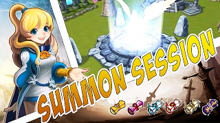 Summoners War - Summon Session - Nyda - Vélin Transcendance +236 Vélins Mystiques