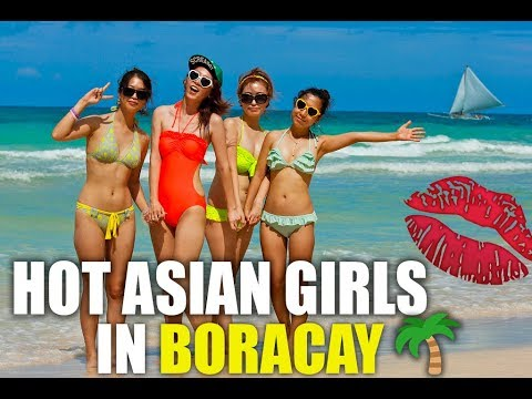 TALKING TO HOT ASIAN GIRLS IN BORACAY Chinese & Koreans