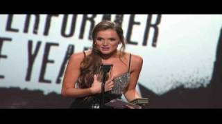 2010 AVN Awards Tori Black Wins For Performer Of The Year