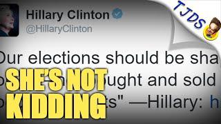 Hillary's Unbelievable Tweet Shows Her Lying Skills Need Work