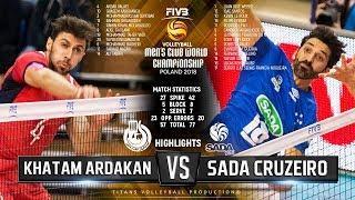 Khatam Ardakan vs. Sada Cruzeiro | Highlights | FIVB Club World Championship 2018