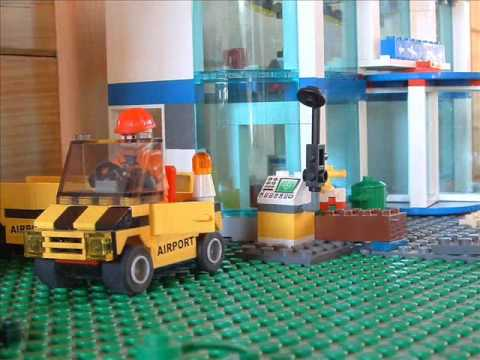 One day at the Airport of LEGO City