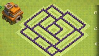 Hướng dẫn cấp xếp nhà clash of clans cấp 7.