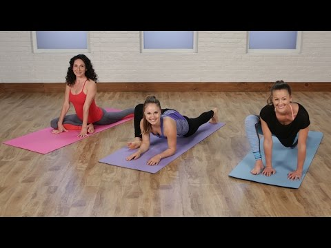 5-Minute Yoga Stretch Routine to Work Up to the Splits | Class FitSugar