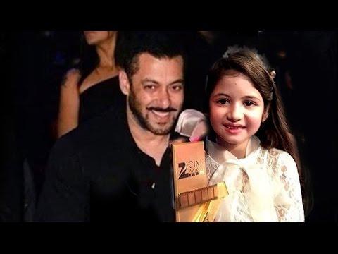 Xxx Mp4 CUTE Salman Khan Harshali Malhotra At Zee Cine Awards 2016 3gp Sex