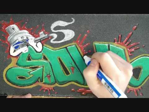 Skateboard Graffiti 2