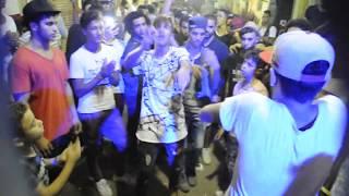 صالح فوكس وامجد الاسطورة \ رقص جامد علي مهرجان يامساء الاستغراب  المدفعجية