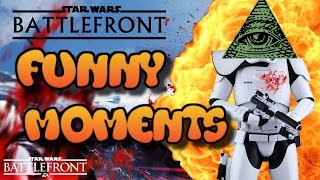 ILLUMINATI   Star Wars Battlefront FUNTAGE (Funny Moments Montage) #2