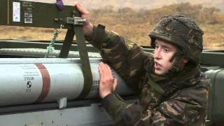 Landmacht vuurt eerste Amraam-raket af
