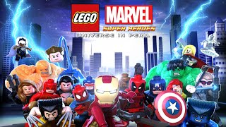 LEGO Marvel Super Heroes l FULL MOVIE Film Complet Francais