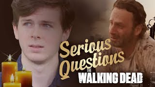 Serious Questions: The Walking Dead (feat Chandler Riggs)