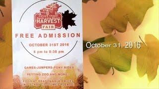 2016 Harvest Fair Promo / Trailer