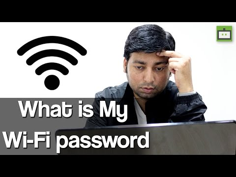 What is My Wi-Fi password