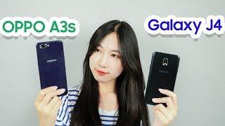 Speed test OPPO A3S và Galaxy J4 : Tiền ít vẫn hít  máy thơm