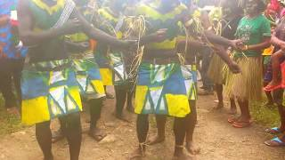 Stringband welcome - Kabwum Youths - Morobe - PNG Culture