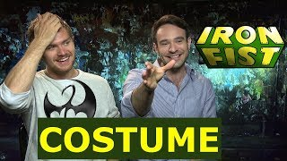 Defenders: Fin Jones & Charlie Cox Talks About Iron Fist Costume