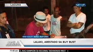 Lalaki arestado sa buy bust operation sa Cabuyao City, Laguna