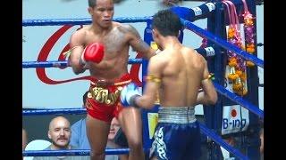Muay Thai Fight - Wanchai vs Sam-D, Rajadamnern Stadium Bangkok - 8th February 2016