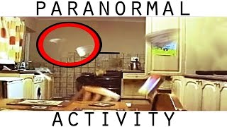 Poltergeist Activity Caught On Video. REAL Ghost Caught On Tape In Kitchen. Part 1