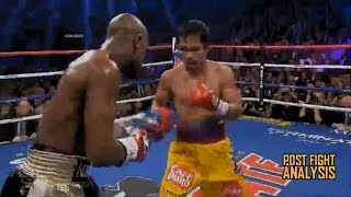 FLOYD MAYWEATHER VS MANNY PACQUIAO - 'PACMAN' DESTROYED EASILY BY 'MONEY'!!! POST FIGHT ANALYSIS