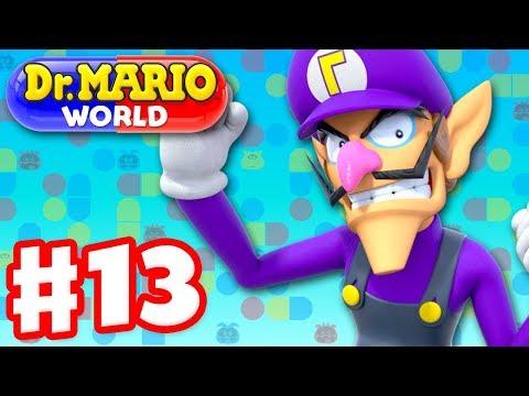 Dr. Mario World Gameplay Walkthrough Part 13 Dr. Waluigi iOS