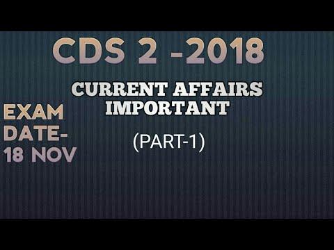 Xxx Mp4 Current Affairs For Cds 2018 Part 1 CDS 2 2018 Defence Current Affairs 2018 Cds 2018 3gp Sex