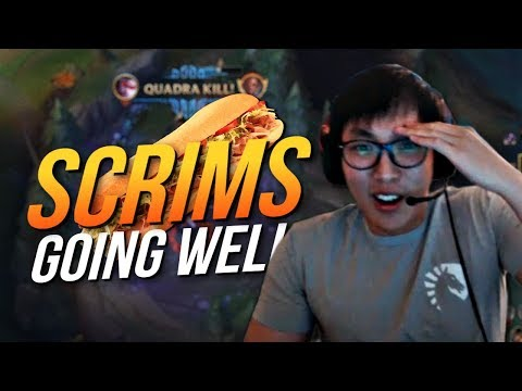 Doublelift SCRIMS GOING WELL