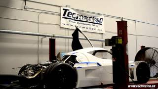 RCR Superlite on the dyno at Tecmotion