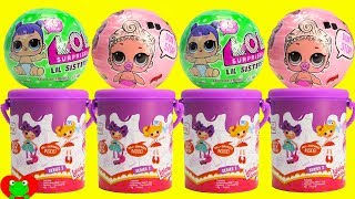 LOL Surprise Dolls Lil Sisters Series 2 Wave 2 and Lalaloopsy Dolls