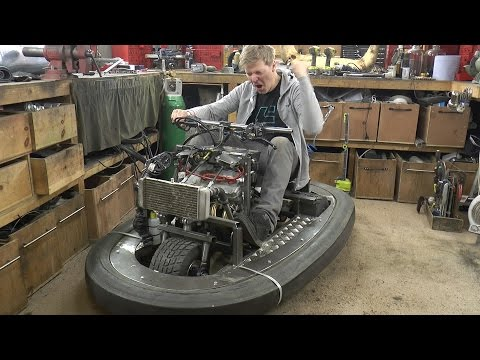 Squeezing 600cc 100BHP Engine in a Bumper car #2 Colin Furze Top Gear Project
