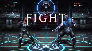 cR SonicFox Plays MKX Ranked Matches with Jacqui Briggs (Shotgun)