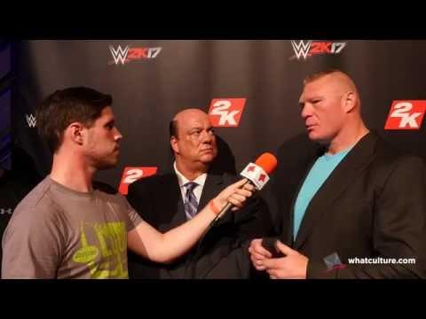 Brock Lesnar Calls Out Bill Goldberg